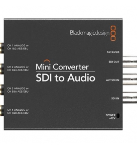 Blackmagic Design SDI to Audio Mini Converter